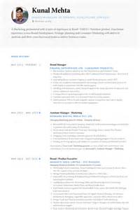 brand manager resume examples brand manager resume samples visualcv resume samples marketing manager resume sample resume companion