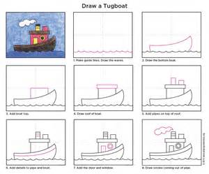 tugboat art projects for kids