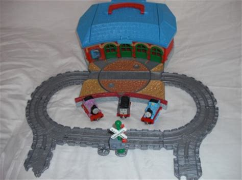 Take Along Tidmouth Sheds by The Tank Engine Take Along N Play Tidmouth Sheds Ebay