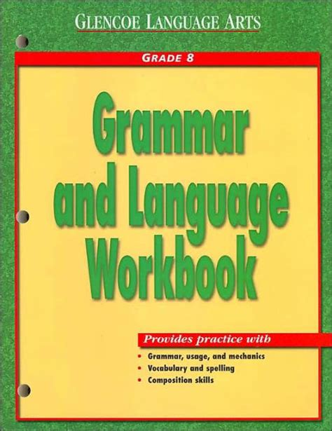 a pattern language barnes and noble grammar and language workbook grade 8 by mcgraw hill