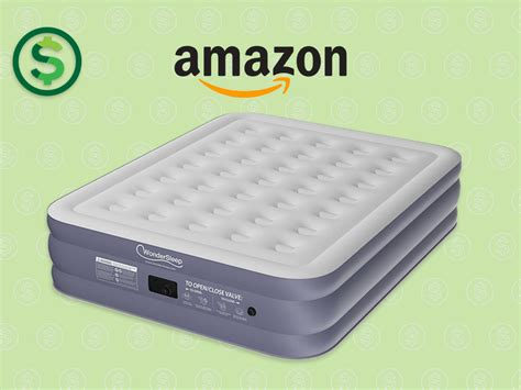 amazon wondersleep classic series air mattress 50 off