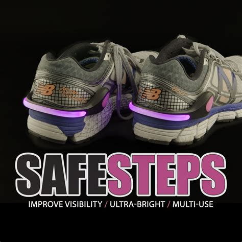 safety lights for runners wholesale safe steps clip on shoe lights for runners