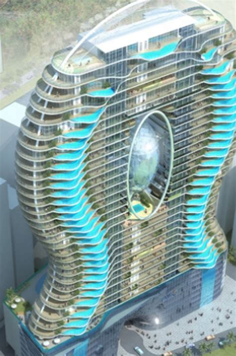 the future aquaria grande tower in india swimming pool balcony possibly unsafe but