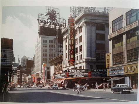 humphrey bogart capitol theater times square nyc