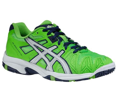 Shuttlecock Green Pro By Gs Sport asics gel resolution 5 gs junior tennis shoes green