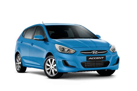 Blue Hyundai Accent by Accent Hatch Hyundai New Zealand