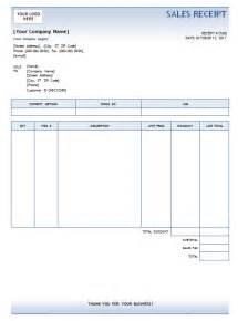 Excel Sales Receipt Template Pics Photos Sales Receipt Template