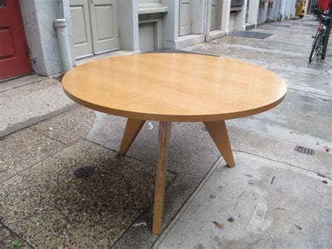 Vitra Dining Table Jean Prouve Gueridon Dining Table For Vitra At 1stdibs