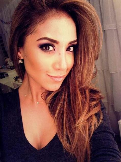 great hair colors for hispanics dulce candy caramel colored hair latina girl crush