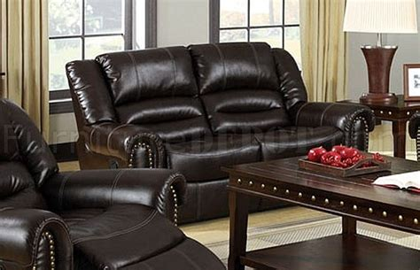 sofa dundee dundee reclining sofa cm6960 in bonded leather match w options