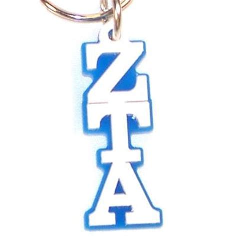 Recommendation Letter For Zeta Tau Alpha Zeta Tau Alpha Letter Keychain Gear And Accessory