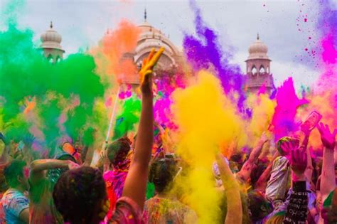 festival of colors holi festival of colors beyond the streets of india
