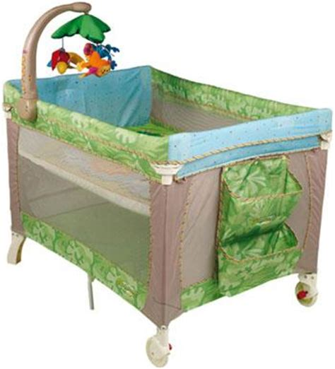 Travel Crib With Bassinet by Fisher Price Travel Cot With Bassinet Playpen And Crib
