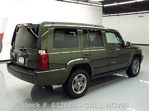 jeep sunroof 2007 jeep commander sunroof na prodej