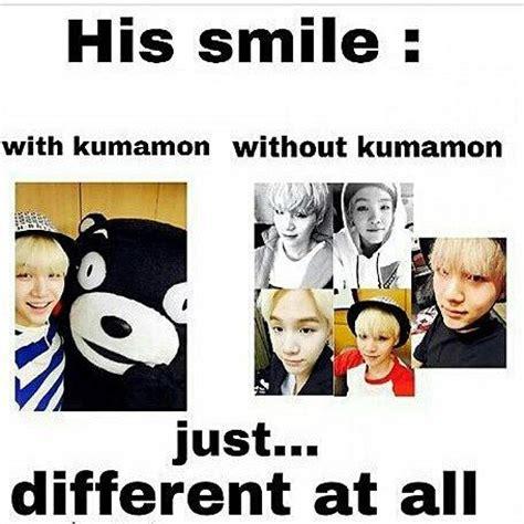 Kumamon Meme - suga it s different bts kumamon suga by
