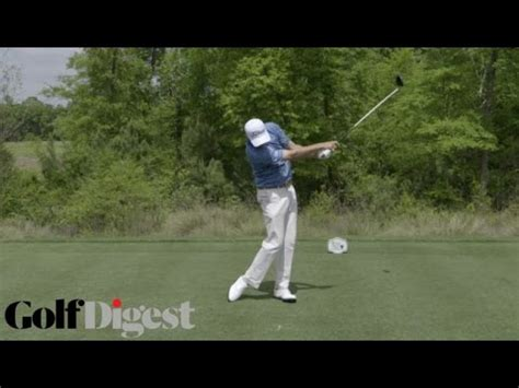 Swing Analysis Bill Haas Youtube