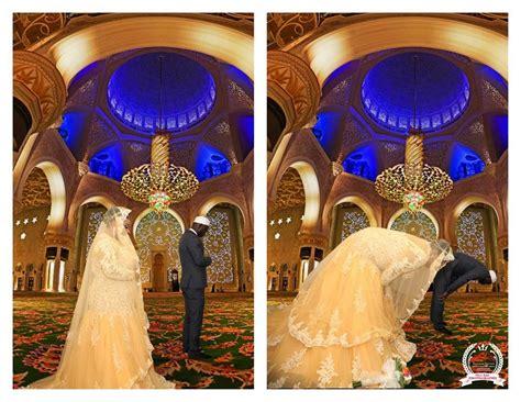 beautiful wedding pictures of modern muslim in dublin basirat weds lukman