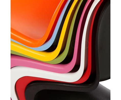 kids  side chair inspired  designs  verner panton vertigo interiors