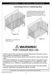 how to turn graco convertable crib into toddler bed