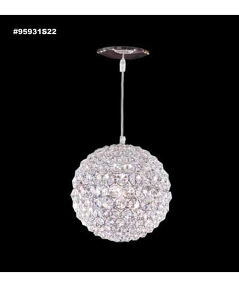 POWDER ROOM PENDANT: James R Moder 95931 Sun Sphere Europa Collection 8 Inch Mini Pendant