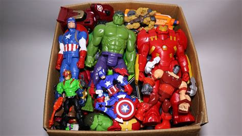 box toys marvel mashers cars hulk iron man captain