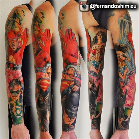 dc comics tattoo designs dc comics by fernandoshimizu on deviantart