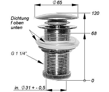 Waschbecken Abfluss Einbauen by Pop Up Waschtisch Ablaufgarnitur Ohne 220 Berlauf Ebay