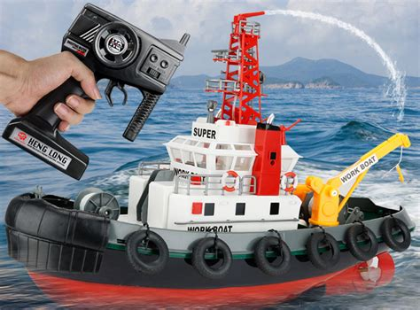 rc rescue boats for sale big scale 2 4ghz radio remote control fireboat rc work