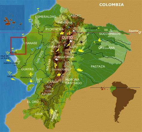 Search Ecuador Maps Best Places To Retire