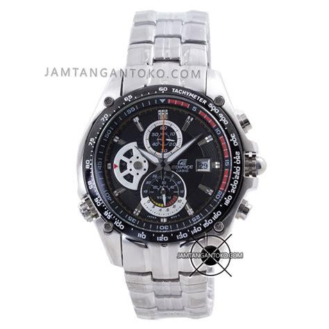 harga sarap jam tangan edifice ef 543d 1av silver plat