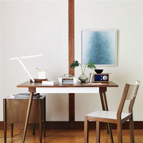 Home Office Desk Collections New Sustainable Home Office Furniture Collection By West Elm Digsdigs
