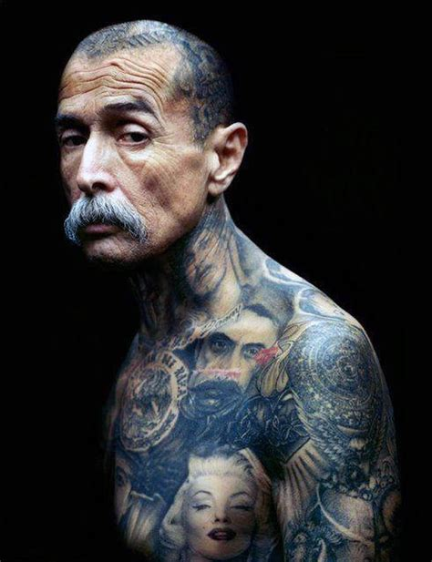 old man with tattoos top 40 best neck tattoos for manly designs and ideas