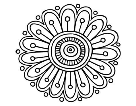 imagenes para dibujar nochebuenas 196 dibujos de mandalas para colorear f 225 ciles y dif 237 ciles