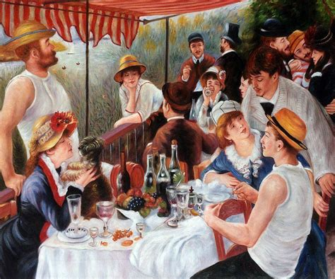 luncheon of the boating party renoir luncheon of the boating party reproduction