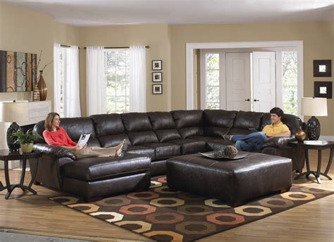 Kathy Ireland Bedroom Furniture Collection jackson lawson 3 piece sectional rsf section armless sofa