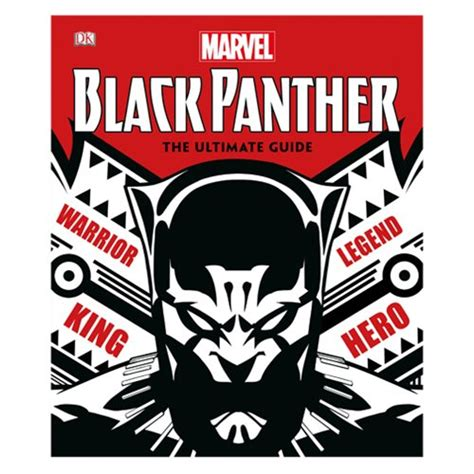 marvel black panther the ultimate guide hardcover book