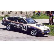 Alfa Romeo GTV6 25 Group A Rothmans Loubet Replica
