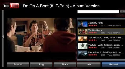 accessing youtube xl on the television youtube xl released it s youtube made for the tv