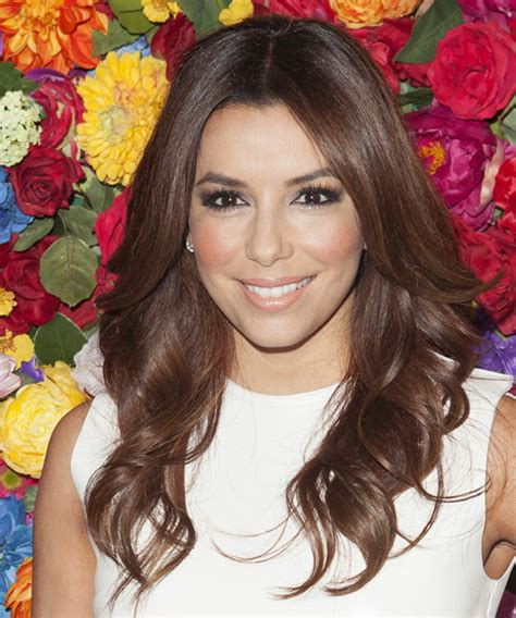 Eva Longoria Parker Long Wavy Formal Hairstyle   Medium