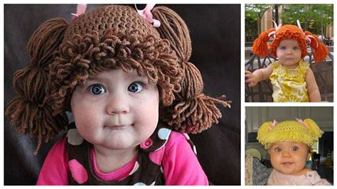 cabbagepatchknitted hat pattern cabbage patch kidsinspired knit hats