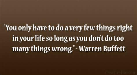 warren buffet success failure quotes quotesgram