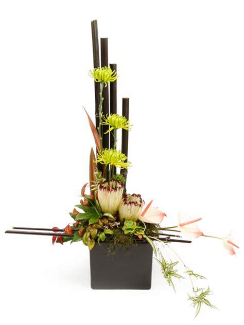 modern new year flower arrangement modern asian inspired floral arrangement flower
