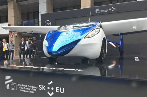 futuristic flying cars aeromobil unveils futuristic flying car plans to launch