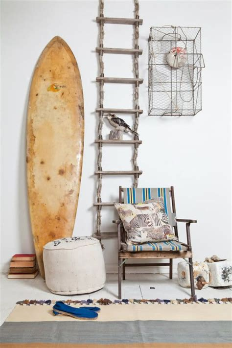 surfboard home decor 80 best diy things to make from old ladders images on
