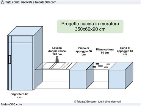 base per piano cottura cucina in muratura fai da te dal progetto alla realizzazione