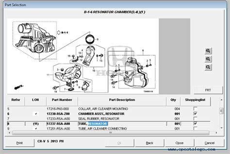 Honda Parts Catalog by Honda Epc General Market Parts Catalog 2016