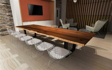 Wooden Boardroom Table Modern Furniture Design Resawn Timber Co