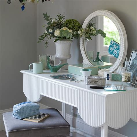 white bedroom dressing table pale grey bedroom with white dressing table decorating