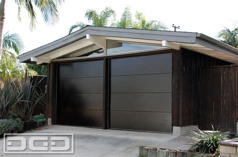 modern garage mid century 01 custom architectural garage door