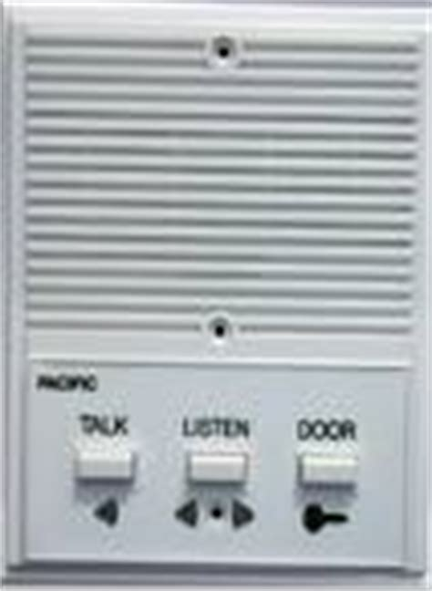 pacific electronics 3403 3 wire plastic intercom station